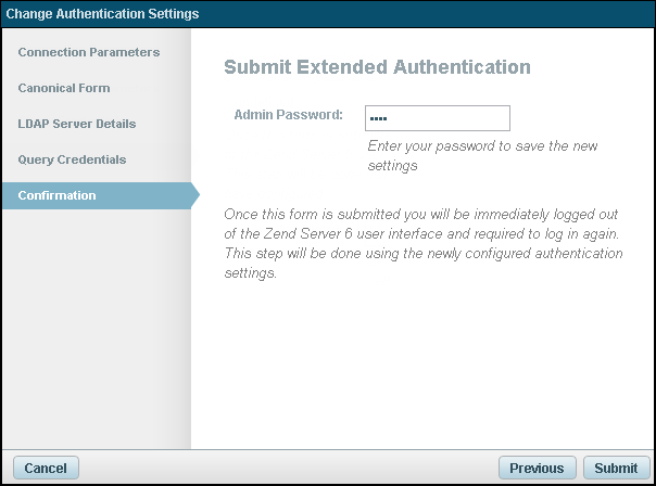 Working with Authentication and Passwords - Zend Server 6 2