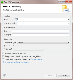 Creating a New Project from CVS- Zend Studio 12