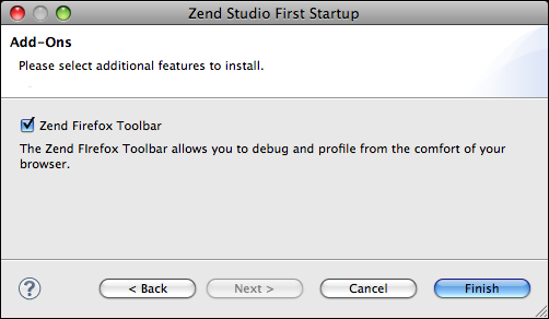 Installing Zend Studio on Mac OS X