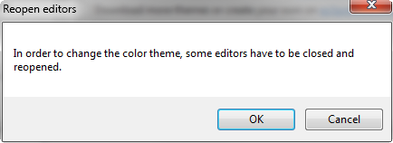 Working with Eclipse Color Theme