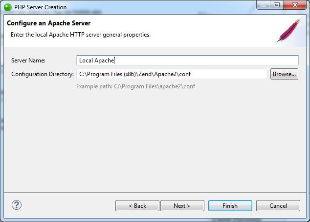 Adding a Local Apache HTTP Server