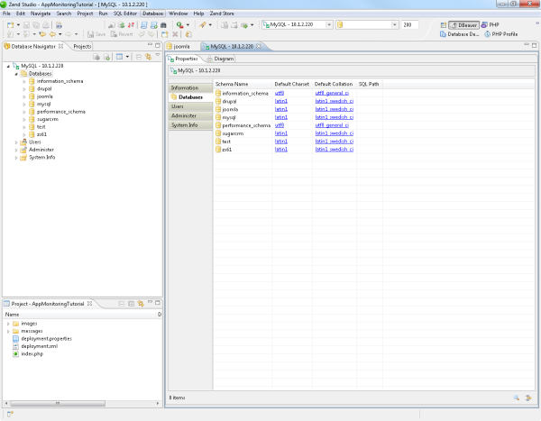 Creating and Managing Database Connections with DBeaver- Zend Studio