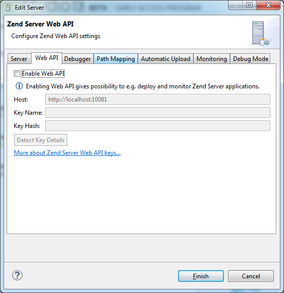 Editing PHP Servers- Zend Studio 13.6