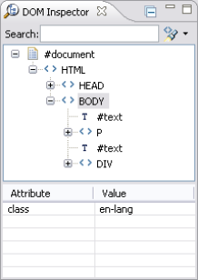 Working With The Ajax Dom Inspector View