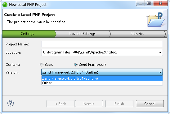 select dom element in php